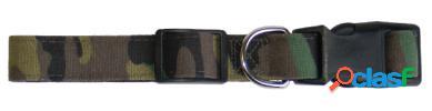 Freedog Collar militar Camu 1 cm