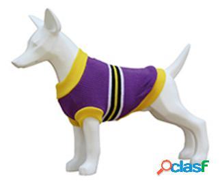 Freedog Jersey Stripes Lila Para Perros 20 cm