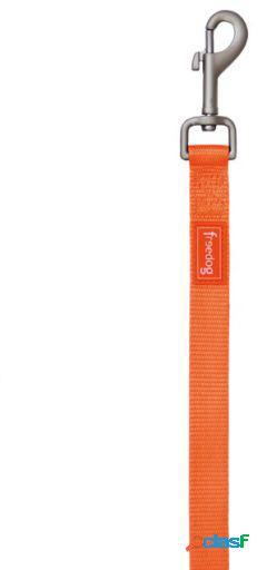 Freedog Tirador Nylon color Neon Naranja Fluor para perros