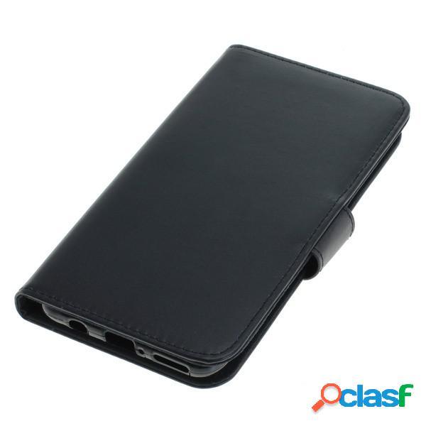 Funda tipo libro para Huawei P30 Lite, negra