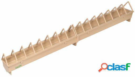 Gaun Comedero Plástico. Rejilla ancha 50 cm