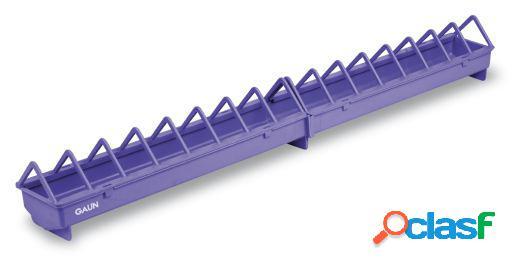 Gaun Comedero Plástico. Rejilla ancha Violeta 50 cm