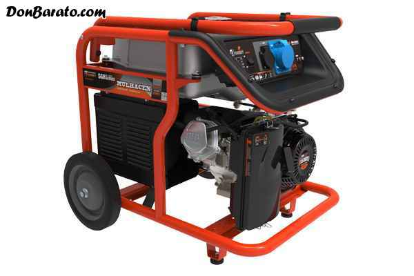 Generador gasolina mulhacen w 230v
