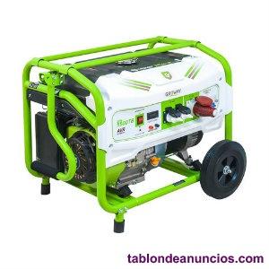Generador gasolina w trifásico manual