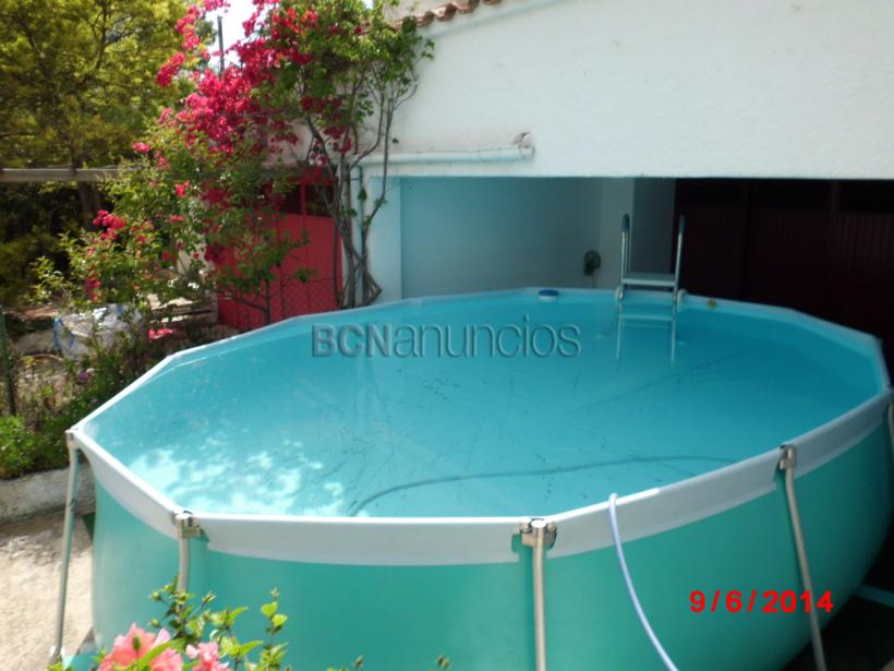Gran piscina desmontable