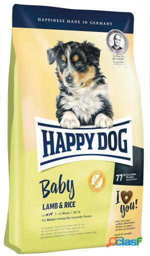 Happy Dog Pienso para Perro Baby Lamb & Rice heart 4 KG