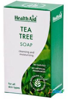 Health Aid Jabón Antiséptico Árbol Del Te 100 gr