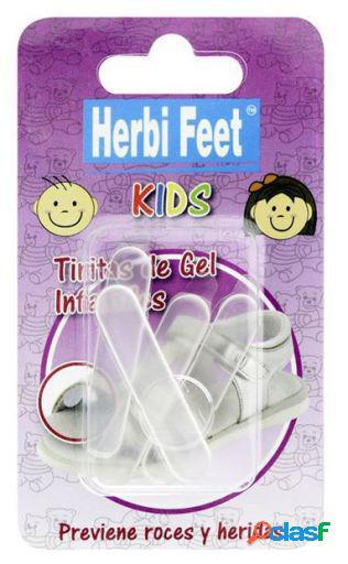 Herbitas Tiritas Gel infantil Herbi Feet Kids 4 uds