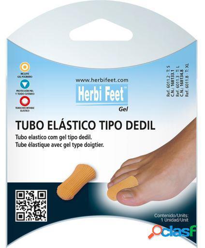Herbitas Tubo Elástico Tipo Dedil con Gel talla l 6 uds 40