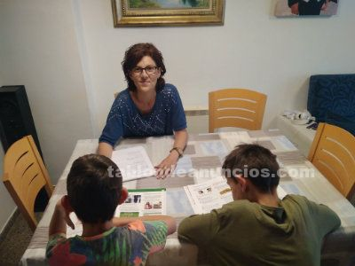 Imparto clases particulares; refuerzo de infantil y primaria