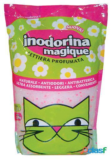 Inodorina Lecho Sanitario Magique - Rosas 2.5 KG