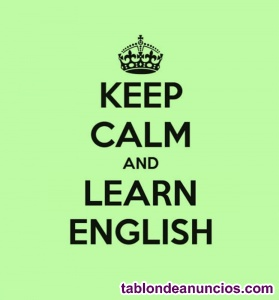 Intensive native english lessons online!