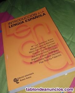 Introduccion a la lengua española