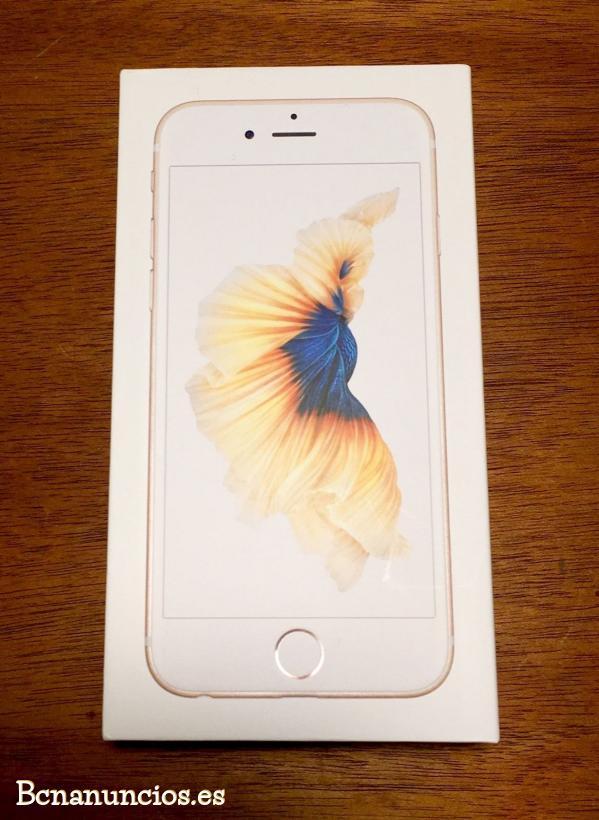 Iphone 6s plus libre con caja factura y garantia