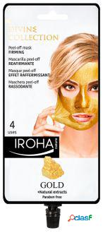 Iroha Nature Gold Peel-Off Firming Mask 4 Unidades 29 gr