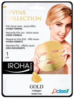Iroha Nature Gold Tissue Hydra-Firming Face Mask 1 Unidad 32