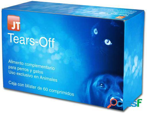 JTPharma Complemento para Perros y Gatos Tears-Off 60