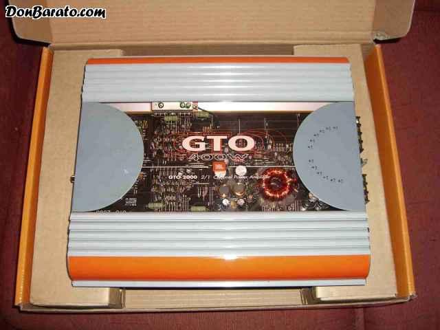 Jbl gto  amplificador de 2canales 400w.