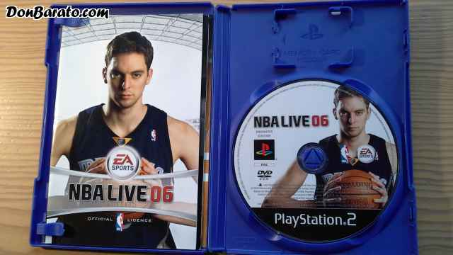 Juego playstation 2, nba live 06
