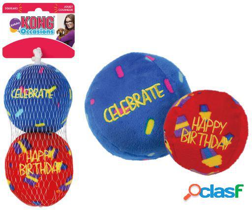 KONG Occasions Birthday Balls para Perros 79 gr