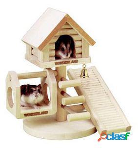 Karlie Flamingo Casa arbol para hamster 21 x 22 x 16 cm