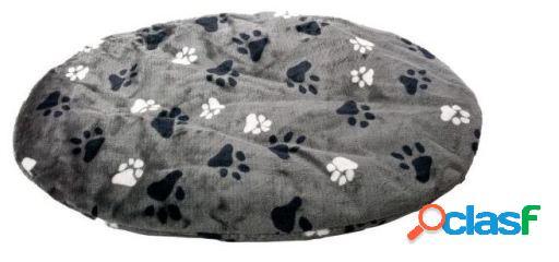 Karlie Flamingo Cojin, ovalado huella, gris 60x50x4 cm