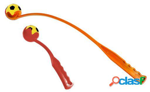 Karlie Flamingo Lanzador 64 Cm Con Pelota Blanda Rojo,