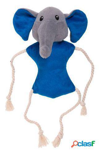 Karlie Flamingo Peluche con ruido 2 en 1 elefante con manta