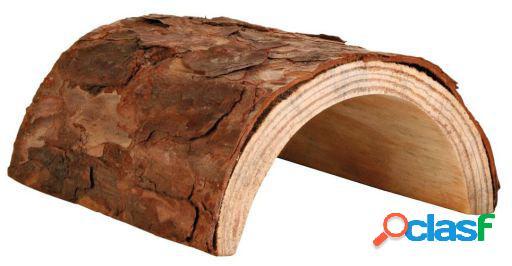 Karlie Flamingo Túnel de madera natural para roedores 20 x