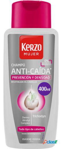 Kerzo Champú Anticaida Mujer Prevención y Densidad 400 ml