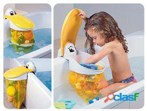 Kids Kit Guardajuguetes Baño Pelicano