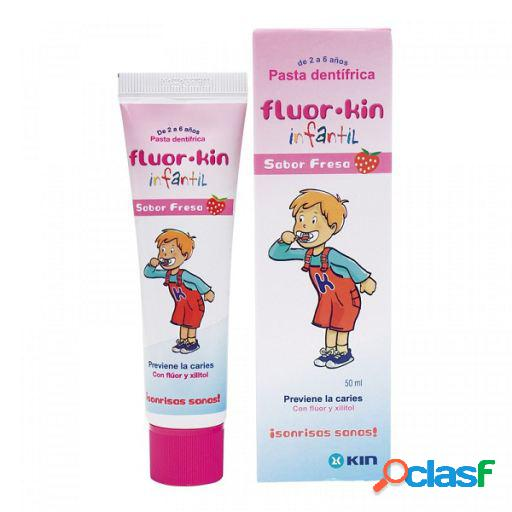 Kin Kin Fluor Infantil Pasta Fresa 50Ml 50 ml
