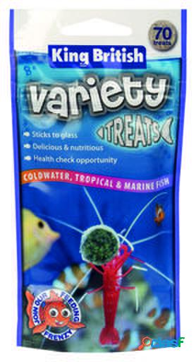 King British Variety Treats Alimentos para Peces 40 GR