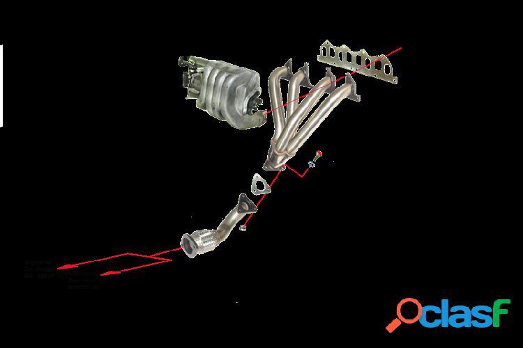Kit Colectores de Escape para RENAULT MEGANE 2.0I 8V 115CV