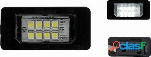 Kit luces de matricula de LEDs para Audi A4 B8 11/07-