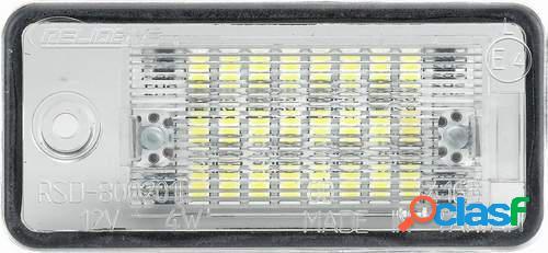 Kit luces de matricula de LEDs para Audi Varios (Canbus)