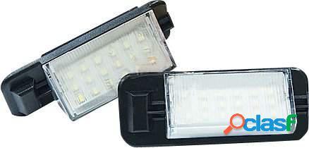 Kit luces de matricula de LEDs para BMW 3 E36 92-98 incl. M3