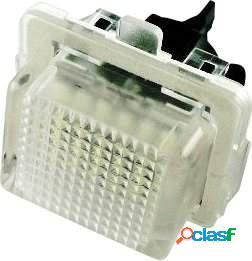 Kit luces de matricula de LEDs para Mercedes CLK W207