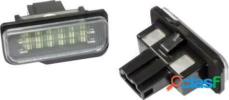 Kit luces de matricula de LEDs para Mercedes CLS W219