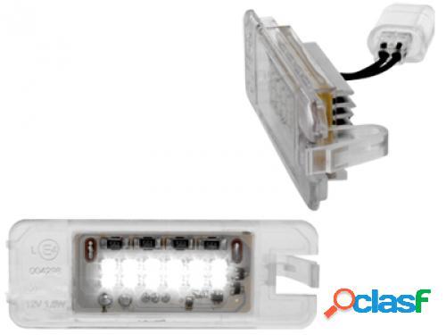 Kit luces de matricula de LEDs para VW SciroccoIII