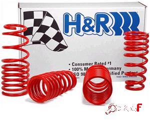 Kit muelles H&R -6/-4 cm para BMW Serie 1 E87