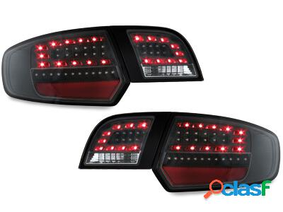 LITEC Focos Faros traseros LED Audi A3 Sportback 03-08 negro