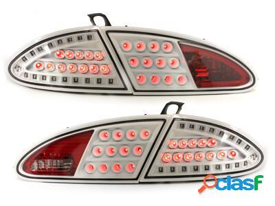 LITEC Focos Faros traseros LED Seat Leon 05-09 1P blanco