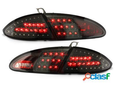 LITEC Focos Faros traseros LED Seat Leon 05-09 1P negro
