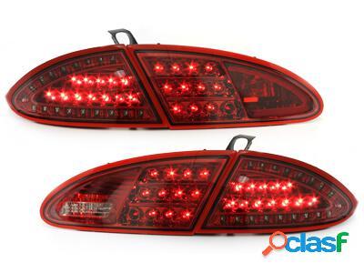 LITEC Focos Faros traseros LED Seat Leon 05-09 1P rojo