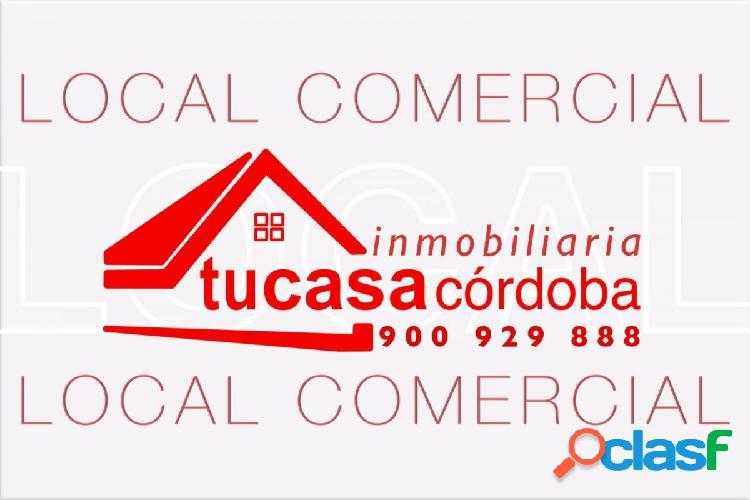 LOCAL COMERCIAL EN VIRGEN DE LAS ANGUSTIAS CON CARTEL