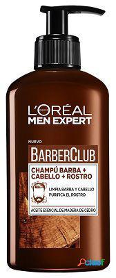 L'Oreal Paris Champú Barber Club 3 en 1 para Barba 200 ml
