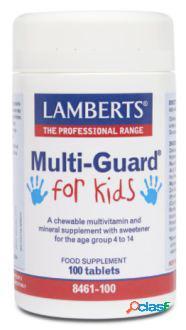 Lamberts MultiGuard para niños vitaminas y minerales