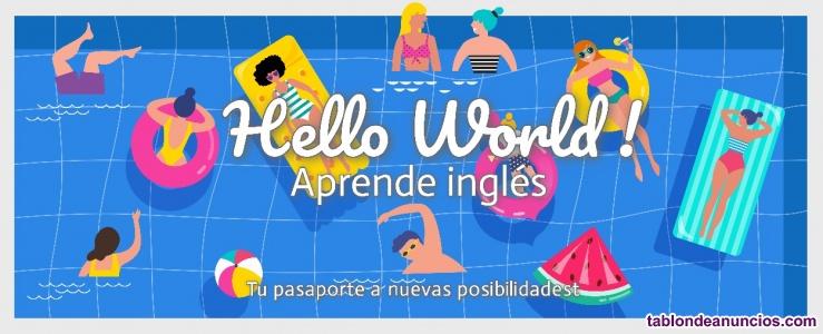 Lección de inglés individualizada en línea (o grupo