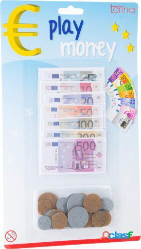 Legler Dinero de juego euro 8,5 x 4,5 cm a partir de 4 años